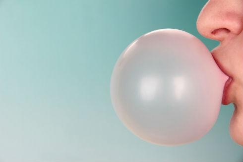 Largest bubble gum bubble blown
