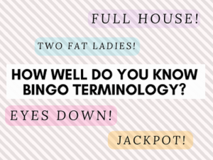 How well do you know bingo terminology mecca blog do you fancy yourself as a bingo buff put your knowledge to the test with our bingo terminology quiz to see how much you really know solutioingenieria Image collections