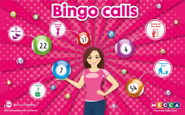 Bingo Calls - Mecca Bingo