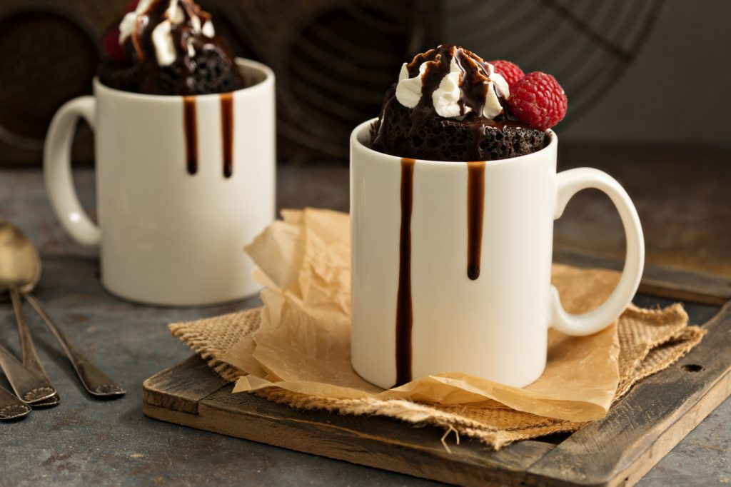 Easy and delicious cake in a mug recipes - Mecca Blog