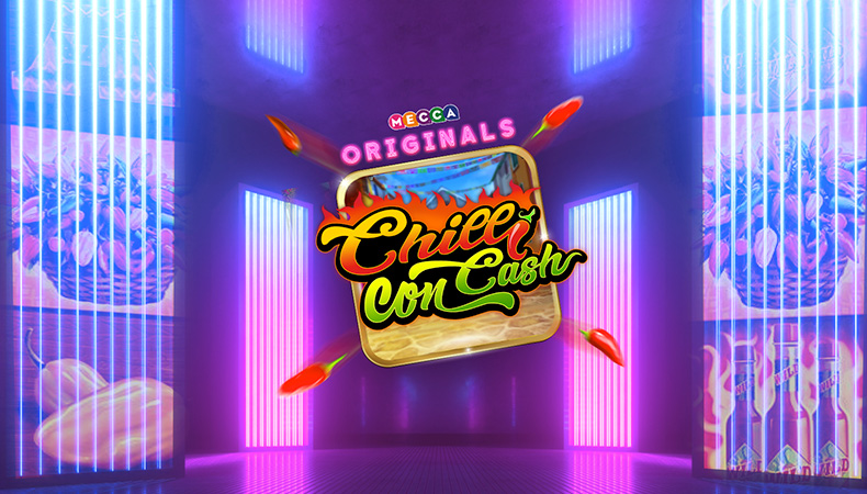 Chilli con Cash slot game