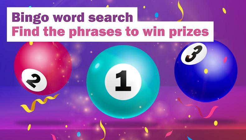 Bingo Word Search