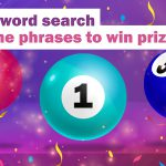 Bingo word search: Find the phrases to win prizes!