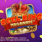 Reel in royal riches with 25 free spins on this week's top slot, Reel King Megaways