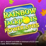 Rainbow Jackpots Power is Top of the Slots