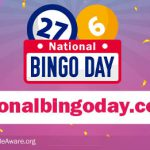 National Bingo Day is coming to the UK and we want to celebrate!