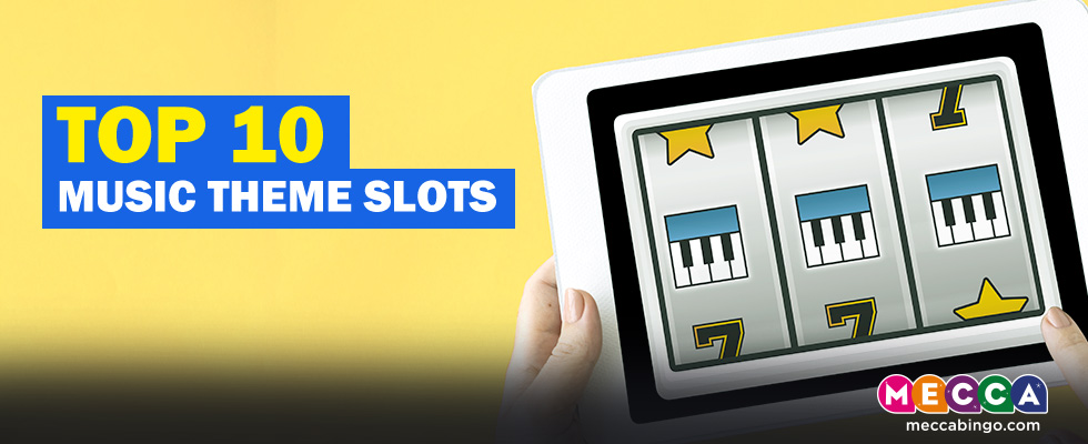 top music themed slots